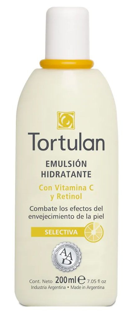 Tortulan Emulsión Hidratante Con Vitamina C y Retinol