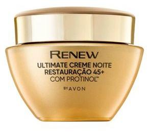 Avon Renew Ultimate Creme Noite Restauração 45+