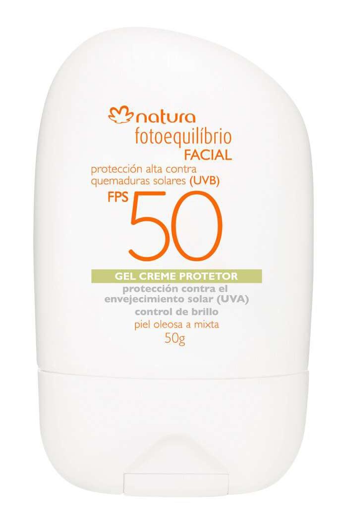 Natura Fotoequilibrio Facial FPS 50 Gel Crema Protector