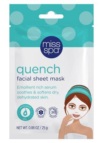 Miss Spa Quench Facial Sheet Mask