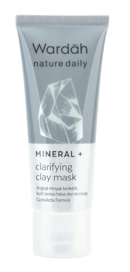 Wardah Nature Daily Mineral+ Clarifying Clay Mask