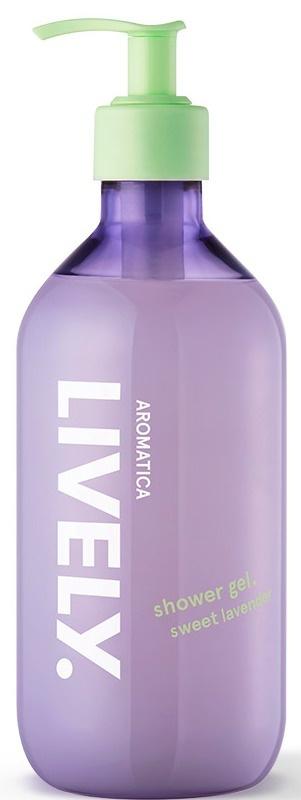 Aromatica Lively Shower Gel, Sweet Lavender