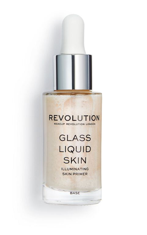 Revolution Skincare Glass Liquid Skin Illuminating Skin Primer