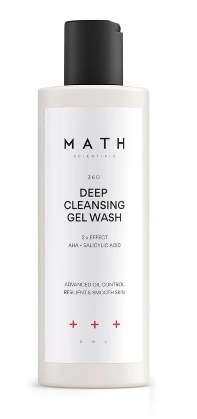 MATH scientific Deep Cleansing Gel Wash