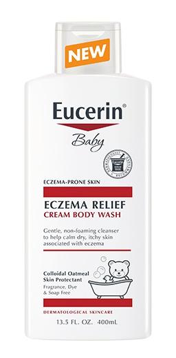 Eucerin Baby Eczema Relief Cream Body Wash