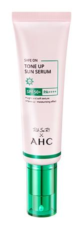 AHC Safe On Tone Up Sun Serum SPF50+/PA++++