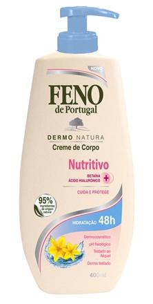 feno de portugal Creme De Corpo Nutritivo