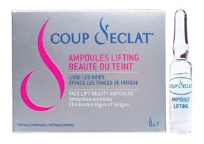 Coup d'eclat Ampoules Lifting Beaute du Teint