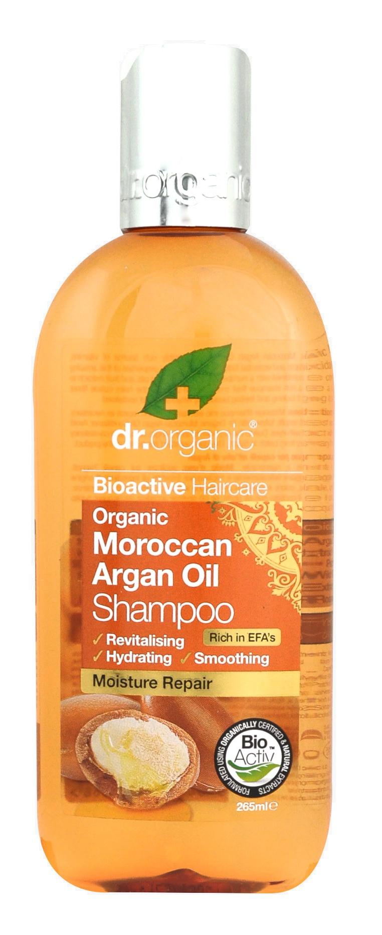 Dr Organic Moroccan Argan Oil Shampoo