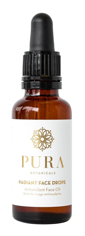 PURA Botanicals Radiant Face Drops - Antioxidant Face Oil