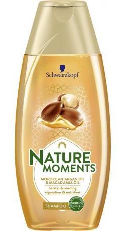Schwarzkopf Nature Moments Moroccan Argan Oil & Macadamia Oi Shampoo