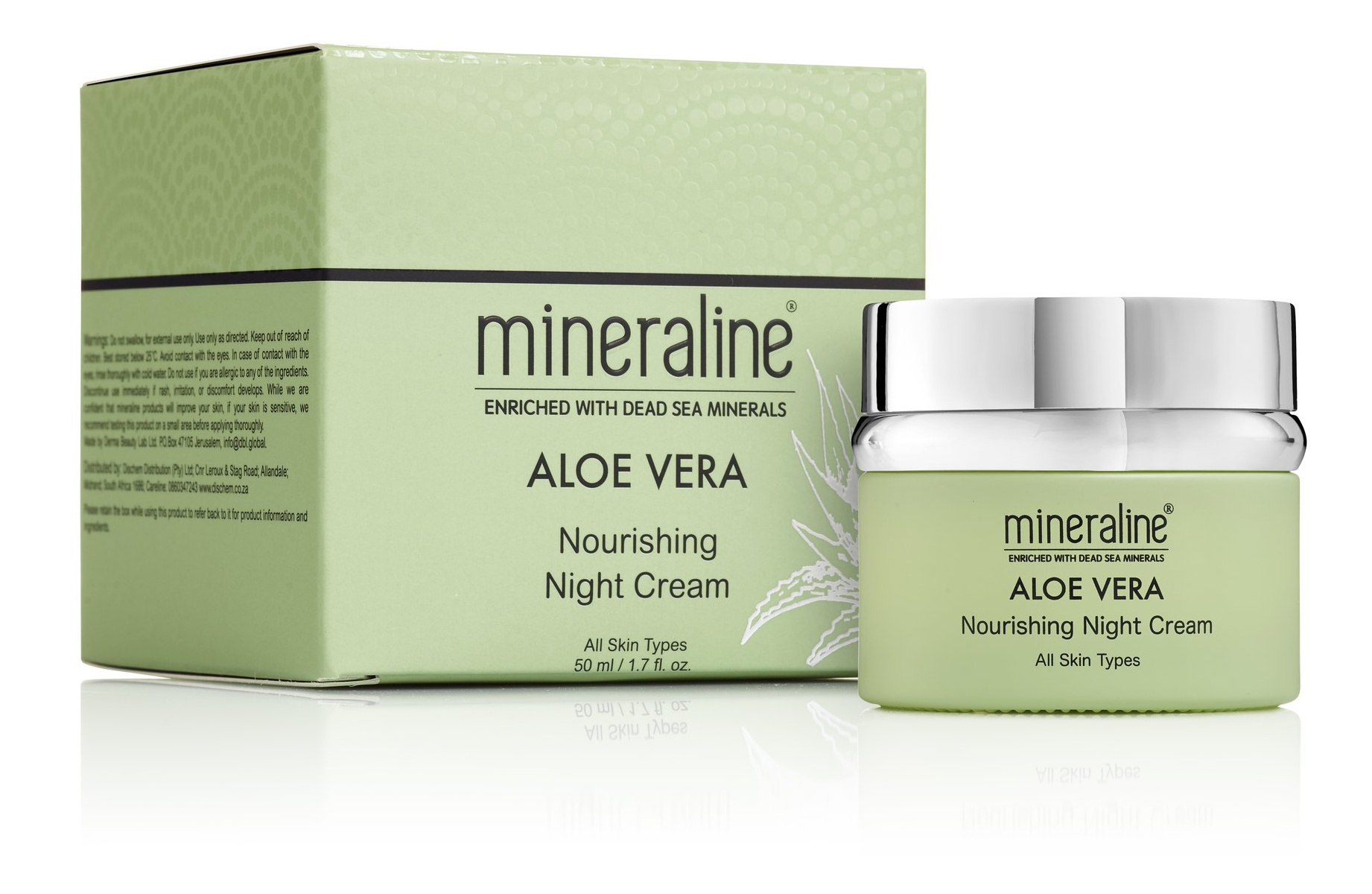 Mineraline Aloe Vera Nourishing Night Cream