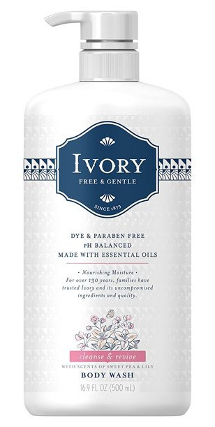 Ivory Free And Gentle Body Wash