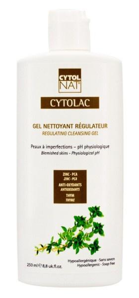 CYTOLNAT  Cytolac Gel Nettoyant Régulateur