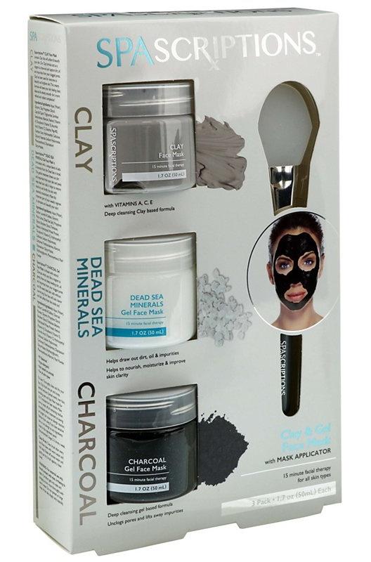 Spascriptions Clay, Dead Sea Minerals & Charcoal Clay & Gel Mask