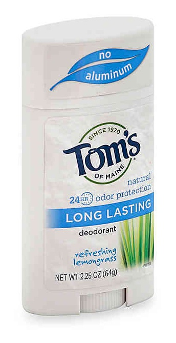 tom's of maine 24Hr Natural Odor Protection Long Lasting Deodorant Lemongrass