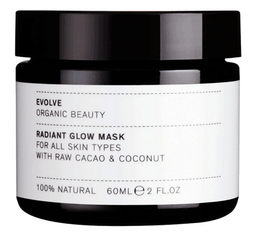 Evolve Beauty Radiant Glow Organic Face Mask