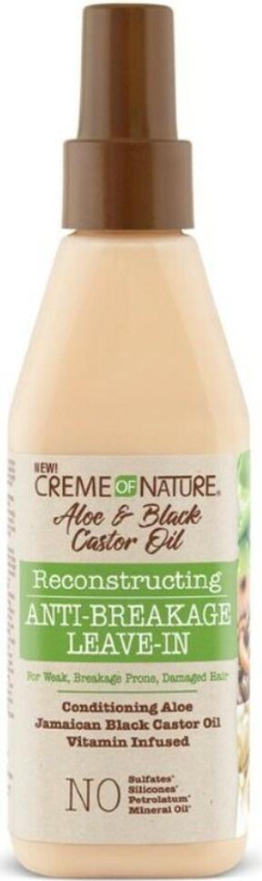 Creme of Nature Aloe & Black Castor Oil Reconstructing Anti-breakage Leave-in