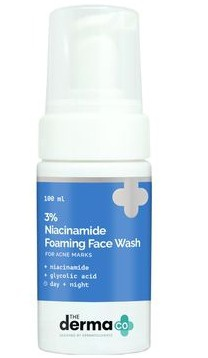The derma CO 3% Niacinamide Foaming Face Wash