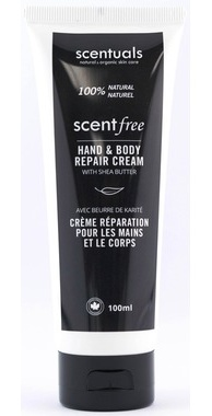 .Scentuals Scent-Free Hand & Body Repair Cream