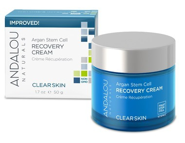 Andalou Naturals Clear Skin Argan Stem Cell Recovery Cream