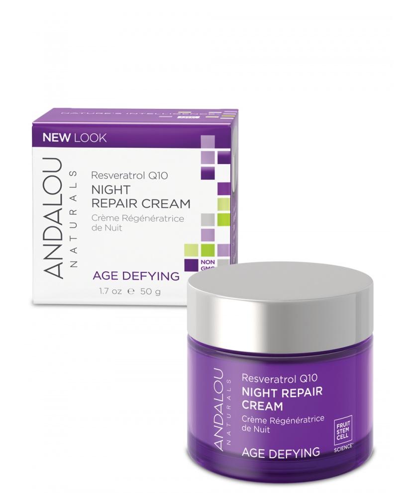 Andalou Resveratrol Q10 Night Repair Cream