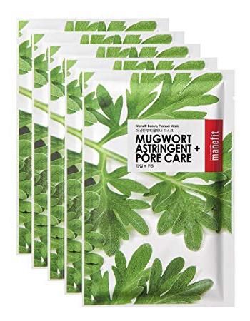 Manefit Beauty Planner Mugwort Sheet Mask Set