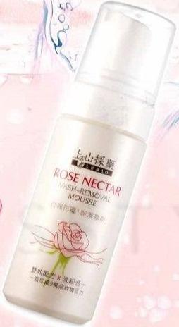 SOFNON Tsaio Rose Nectar Wash-Removal Mousse