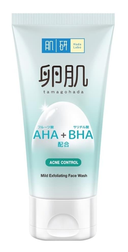 Hada Labo Aha + Bha Acne Control Face Wash