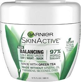 Garnier SkinActive Balancing 3-in-1 Moisturizer Day/Night Mask, Lotion