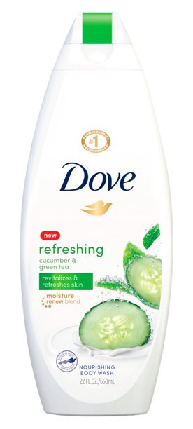 Dove Refreshing Body Wash With Cucumber And Green Tea