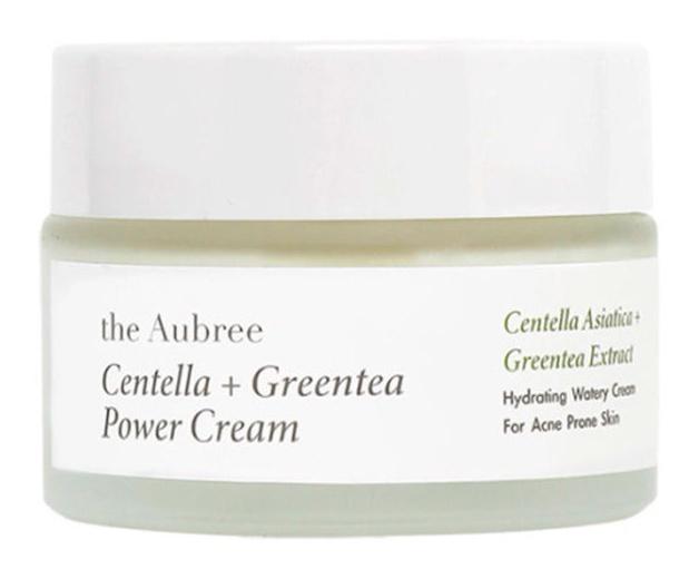 the Aubree Centella+Greentea Power Cream