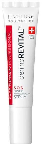 Eveline Dermorevital | Sos Express Wrinkle Reducing Serum For Eye, Forehead And Lip Area