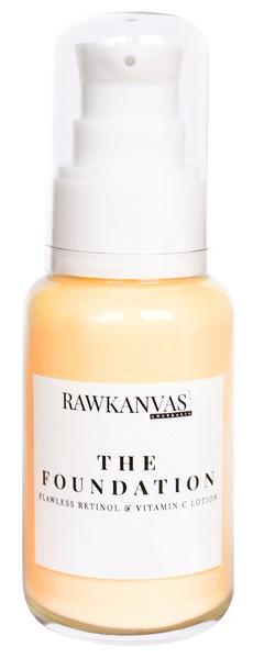 Rawkanvas The Foundation: Flawless Retinol & Vitamin C Lotion
