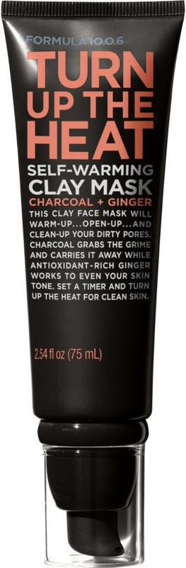 Formula 10.0.6 Turn Up The Heat Self-Warming Clay Mask Charcoal + Ginger