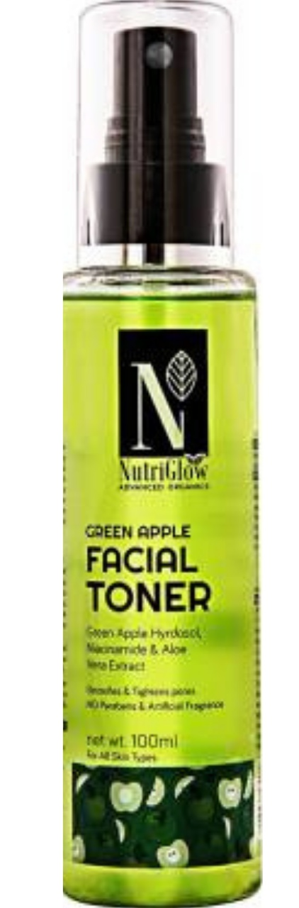 NutriGlow Green Apple Facial Toner