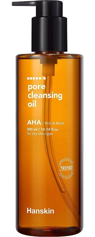Hanskin Pore Cleansing Oil AHA
