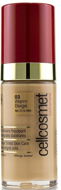 Cellcosmet and Cellmen Cellteint Plumping Cellular Tinted Skincare Cream