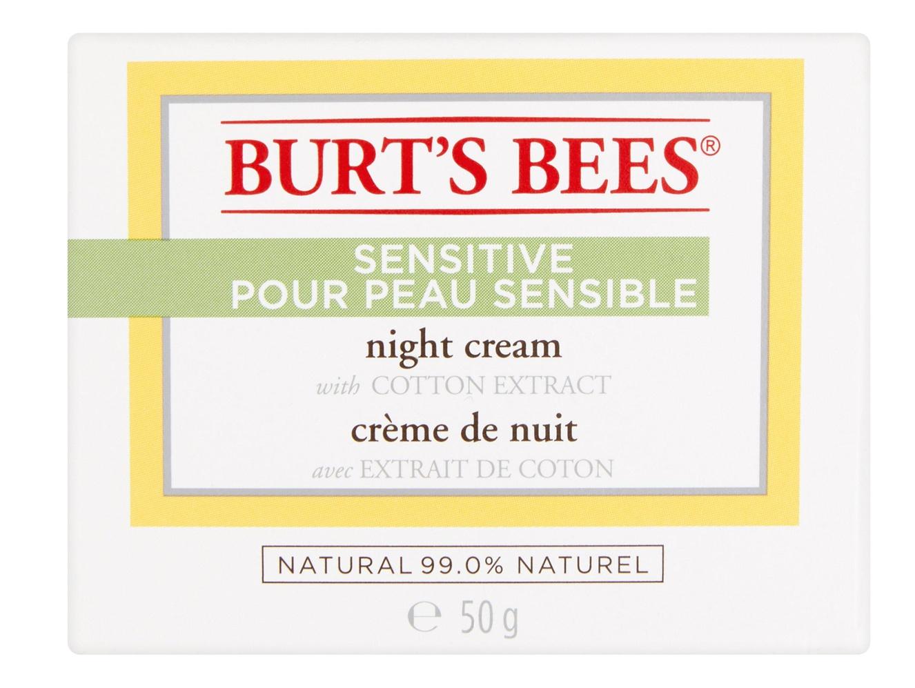 Burt's Bees Sensitive Night Cream