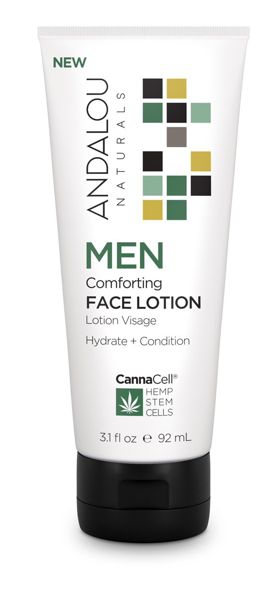 Andalou Naturals Men Comforting Face Lotion
