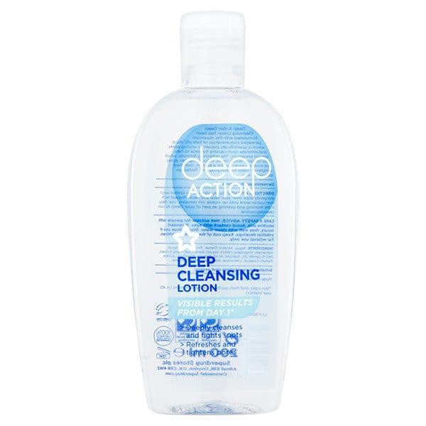 Superdrug Deep Action Deep Cleansing Lotion
