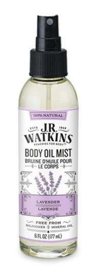 J.R. Watkins Body Oil Mist - Lavender