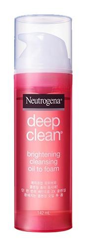 Neutrogena Deep Clean Brightening Oil To Foam Cleanser