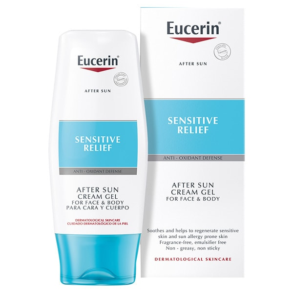 Eucerin After Sun Creme-Gel For Sun Allergy Prone Skin