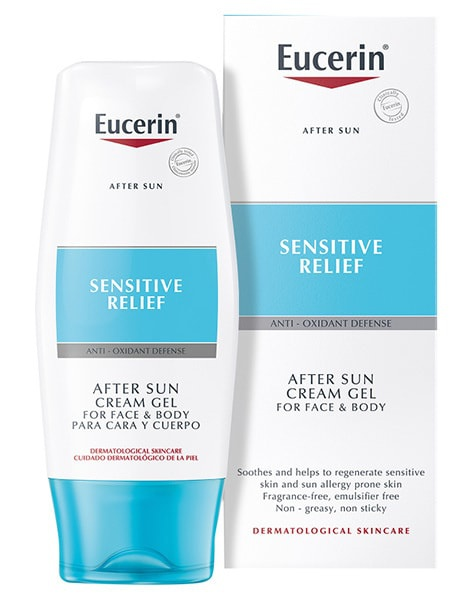 Eucerin After Sun Creme-Gel For Sun Allergy Prone Skin