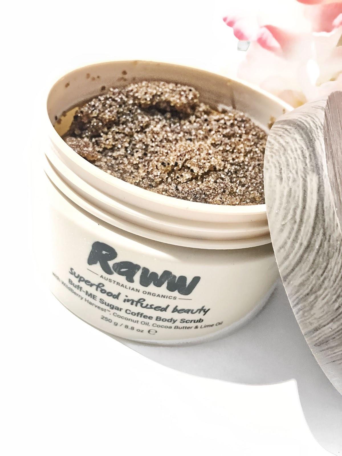 Raww Buff-Me Sugar Coffee Body Scrub