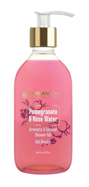 ARGANICARE Shower Gel With Pomegranate And Rose Water
