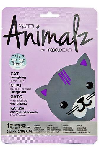 MasqueBAR Pretty Animalz Cat Sheet Mask