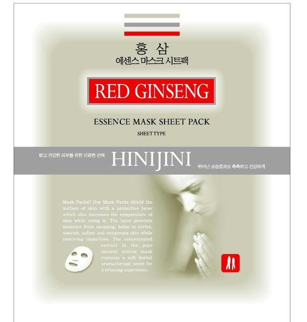 Hinijini Red Ginseng Essence Mask Sheet Pack