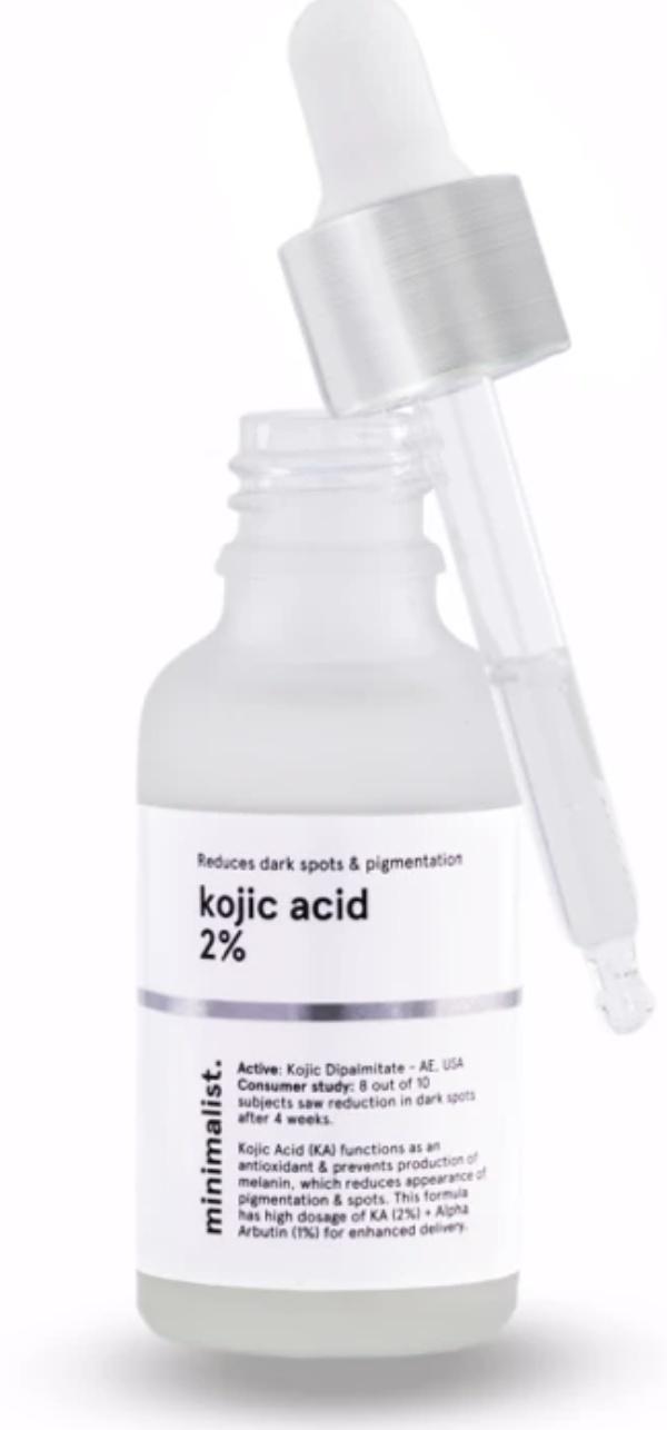 minimalist Kojic Acid 2% + Alpha Arbutin 1%